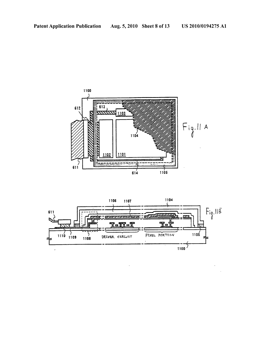 EL Display Device and Manufacturing Method Thereof - diagram, schematic, and image 09