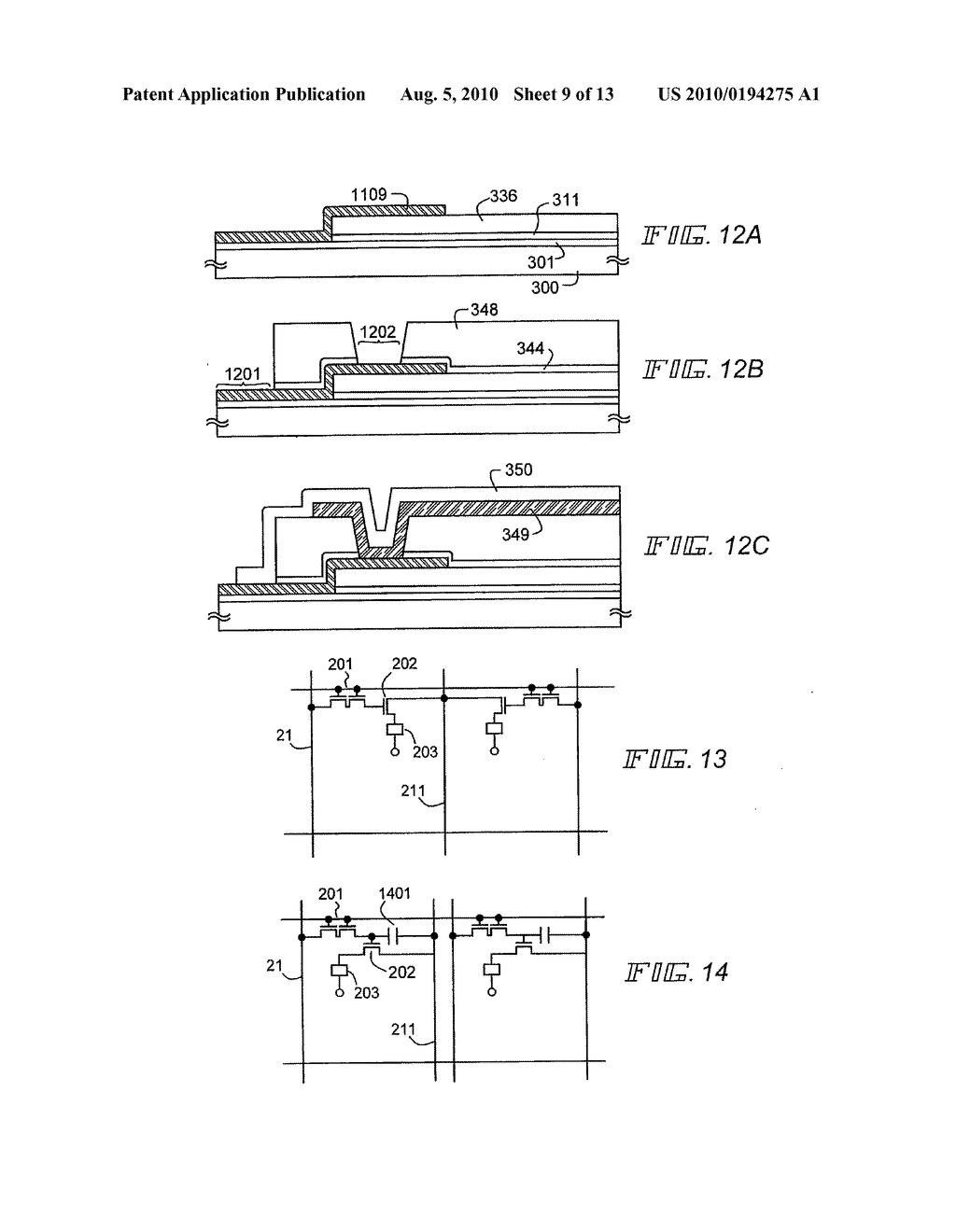 EL Display Device and Manufacturing Method Thereof - diagram, schematic, and image 10