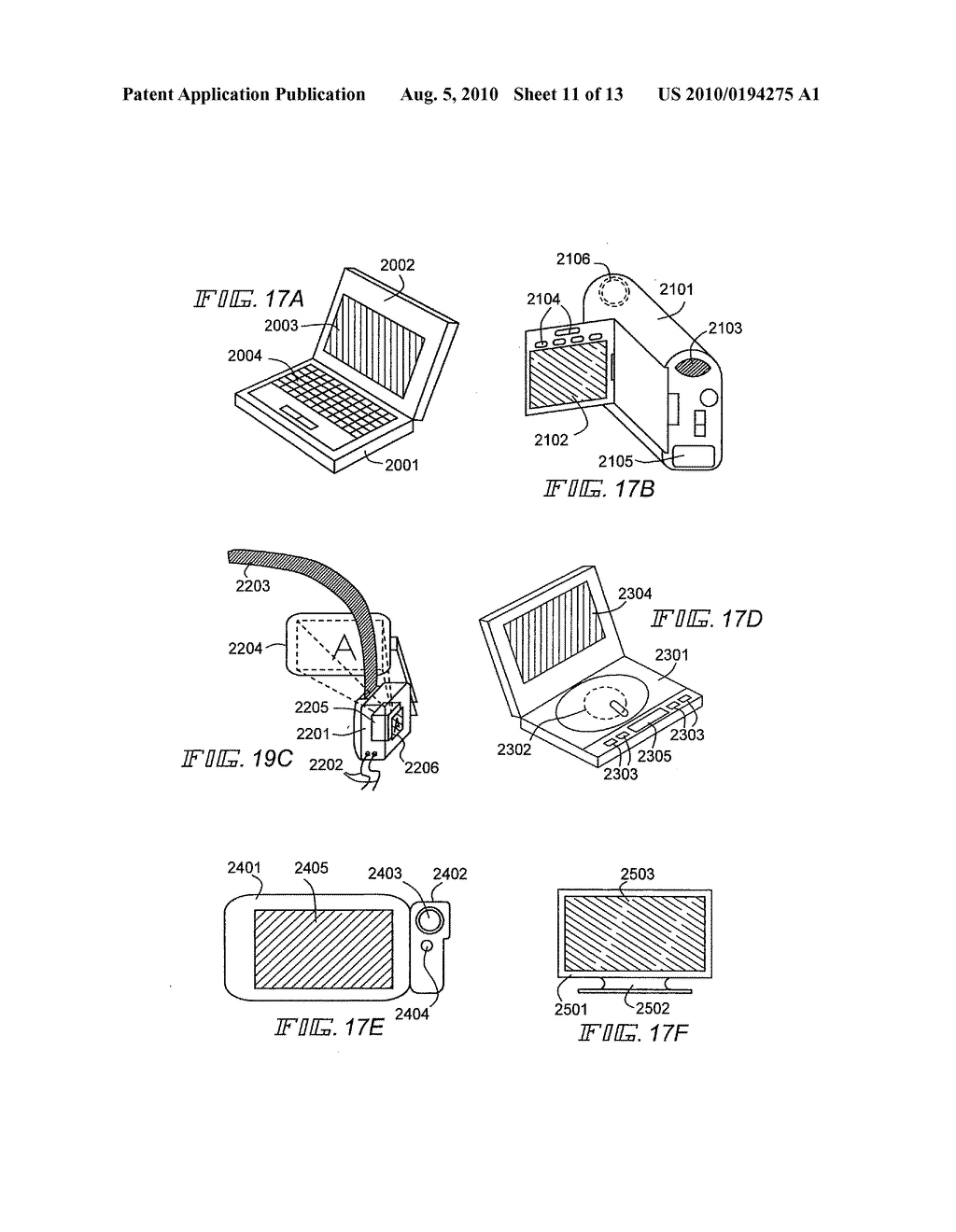 EL Display Device and Manufacturing Method Thereof - diagram, schematic, and image 12