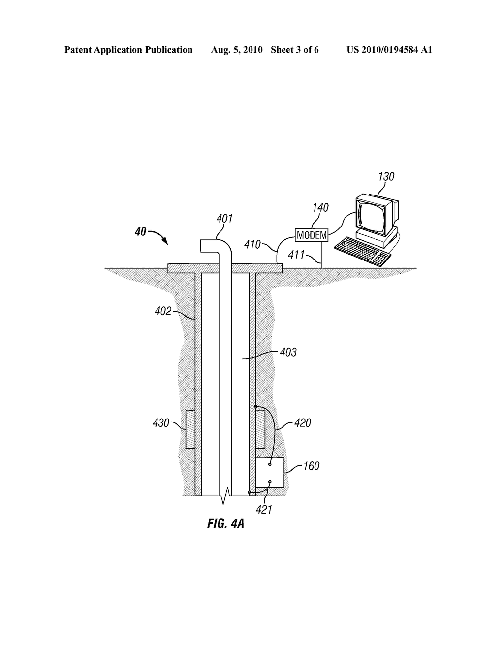 WELLBORE COMMUNICATION, DOWNHOLE MODULE, AND METHOD FOR COMMUNICATING - diagram, schematic, and image 04