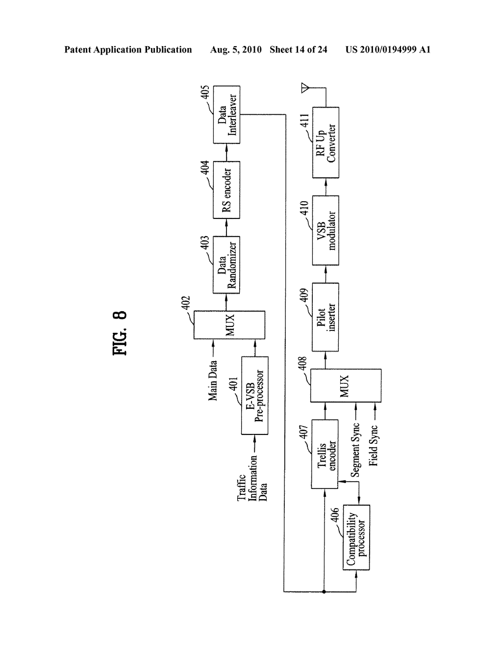 METHOD OF PROCESSING TRAFFIC INFORMATION AND DIGITAL BROADCAST SYSTEM - diagram, schematic, and image 15