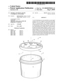 POURING AND MIXING LID FOR CYLINDRICAL CONTAINERS diagram and image