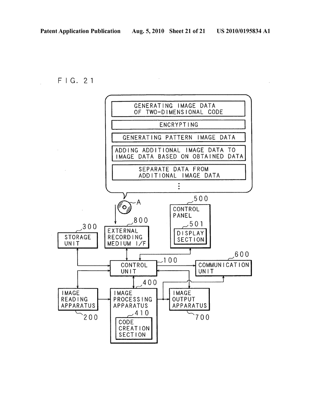 Image generating apparatus, image processing apparatus, image forming apparatus, and recording medium - diagram, schematic, and image 22