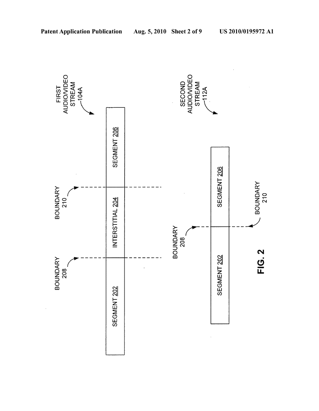 METHODS AND APPARATUS FOR IDENTIFYING PORTIONS OF A VIDEO STREAM BASED ON CHARACTERISTICS OF THE VIDEO STREAM - diagram, schematic, and image 03