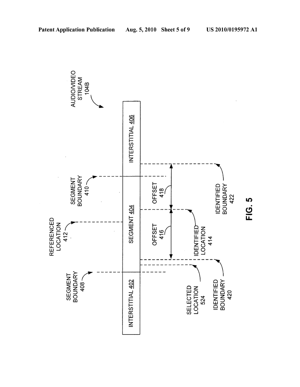 METHODS AND APPARATUS FOR IDENTIFYING PORTIONS OF A VIDEO STREAM BASED ON CHARACTERISTICS OF THE VIDEO STREAM - diagram, schematic, and image 06