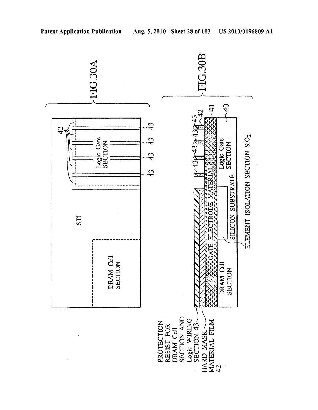 SEMICONDUCTOR DEVICE FABRICATION METHOD AND SEMICONDUCTOR DEVICE - diagram, schematic, and image 29
