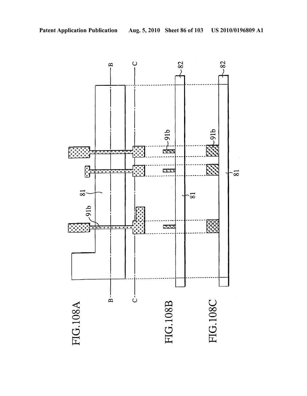 SEMICONDUCTOR DEVICE FABRICATION METHOD AND SEMICONDUCTOR DEVICE - diagram, schematic, and image 87