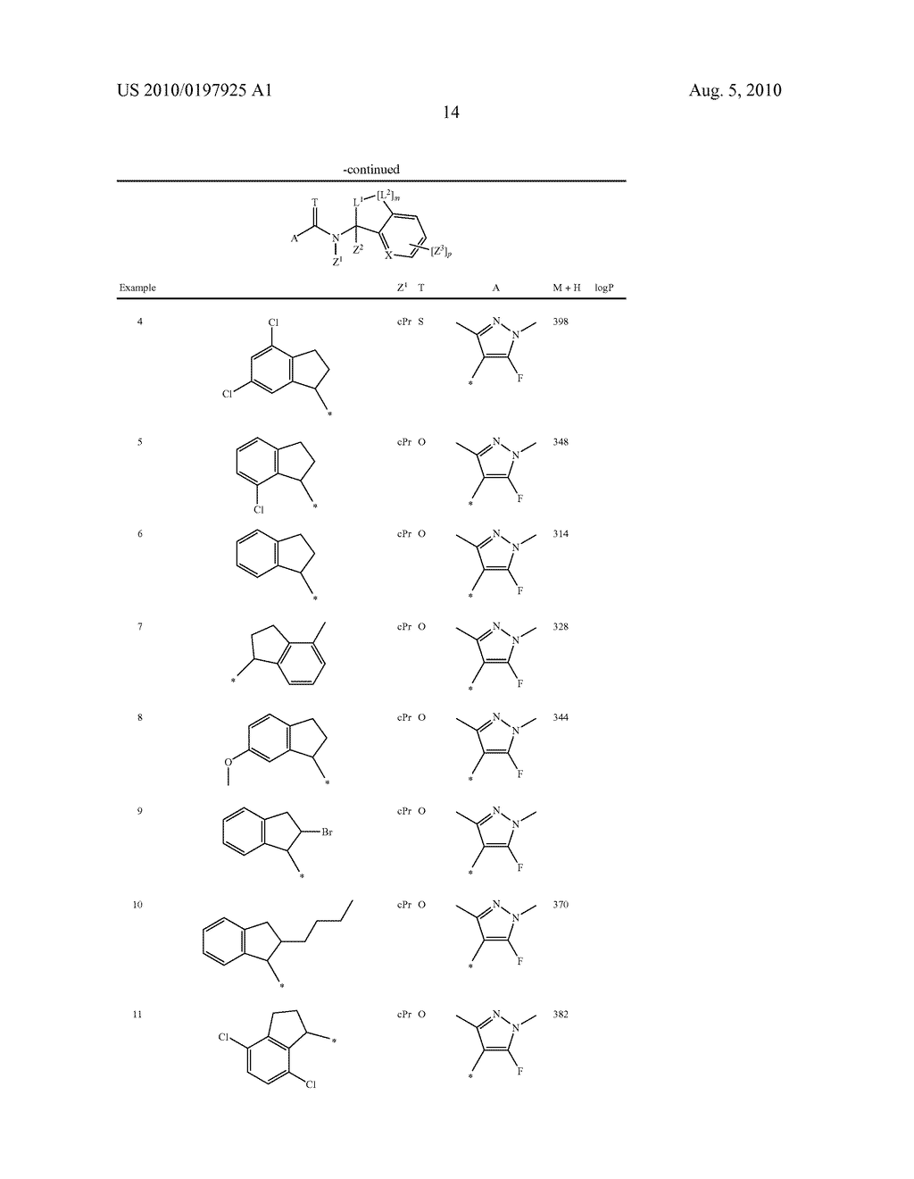 FUNGICIDE N-CYCLOALKYL-N-BICYCLIC-CARBOXAMIDE DERIVATIVES - diagram, schematic, and image 15