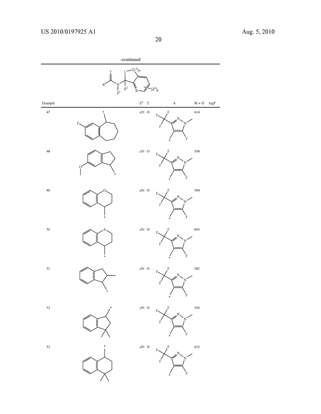 FUNGICIDE N-CYCLOALKYL-N-BICYCLIC-CARBOXAMIDE DERIVATIVES - diagram, schematic, and image 21