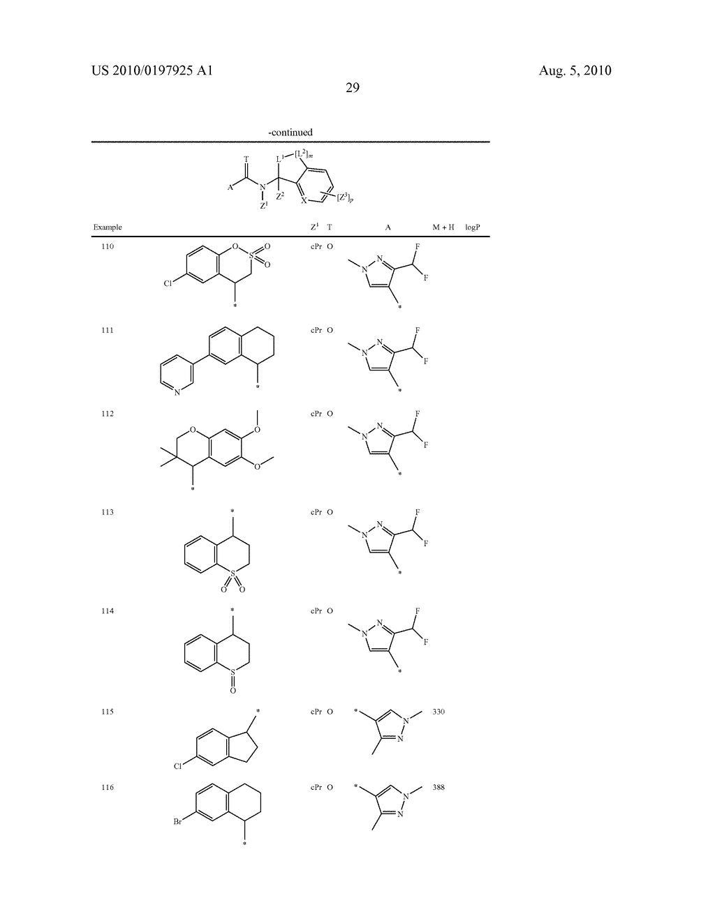 FUNGICIDE N-CYCLOALKYL-N-BICYCLIC-CARBOXAMIDE DERIVATIVES - diagram, schematic, and image 30