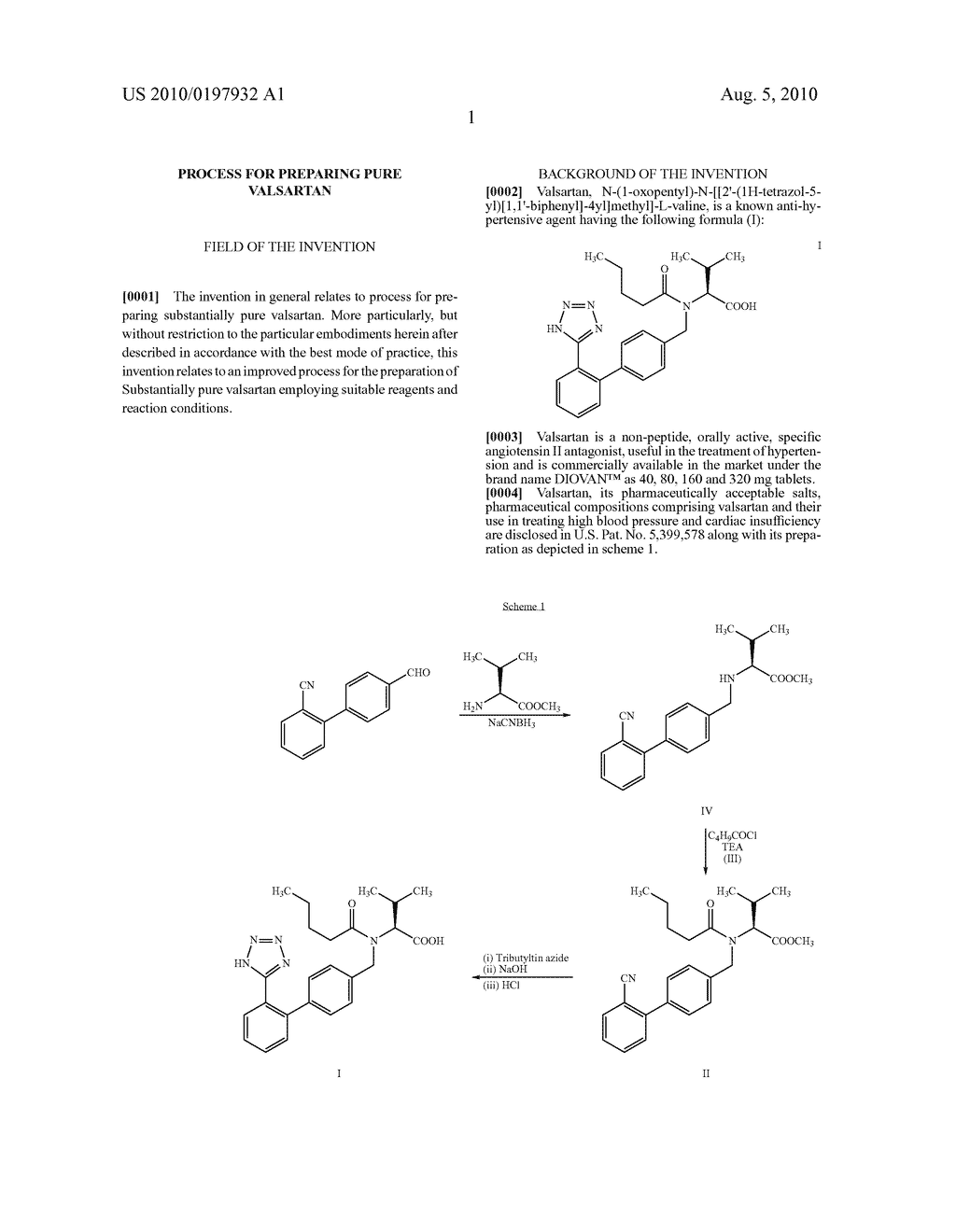 PROCESS FOR PREPARING PURE VALSARTAN - diagram, schematic, and image 02