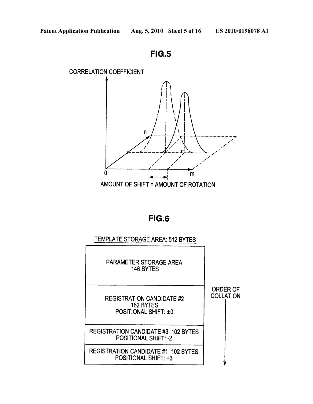 VEIN AUTHENTICATION APPARATUS AND TEMPLATE REGISTRATION METHOD - diagram, schematic, and image 06