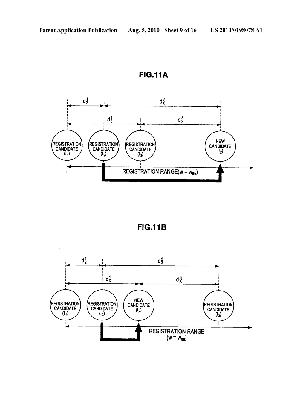 VEIN AUTHENTICATION APPARATUS AND TEMPLATE REGISTRATION METHOD - diagram, schematic, and image 10
