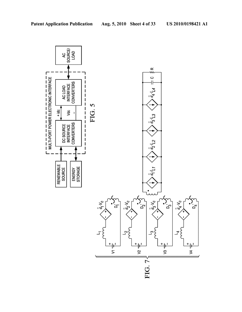 Methods and Apparatus for Design and Control of Multi-port Power Electronic Interface for Renewable Energy Sources - diagram, schematic, and image 05
