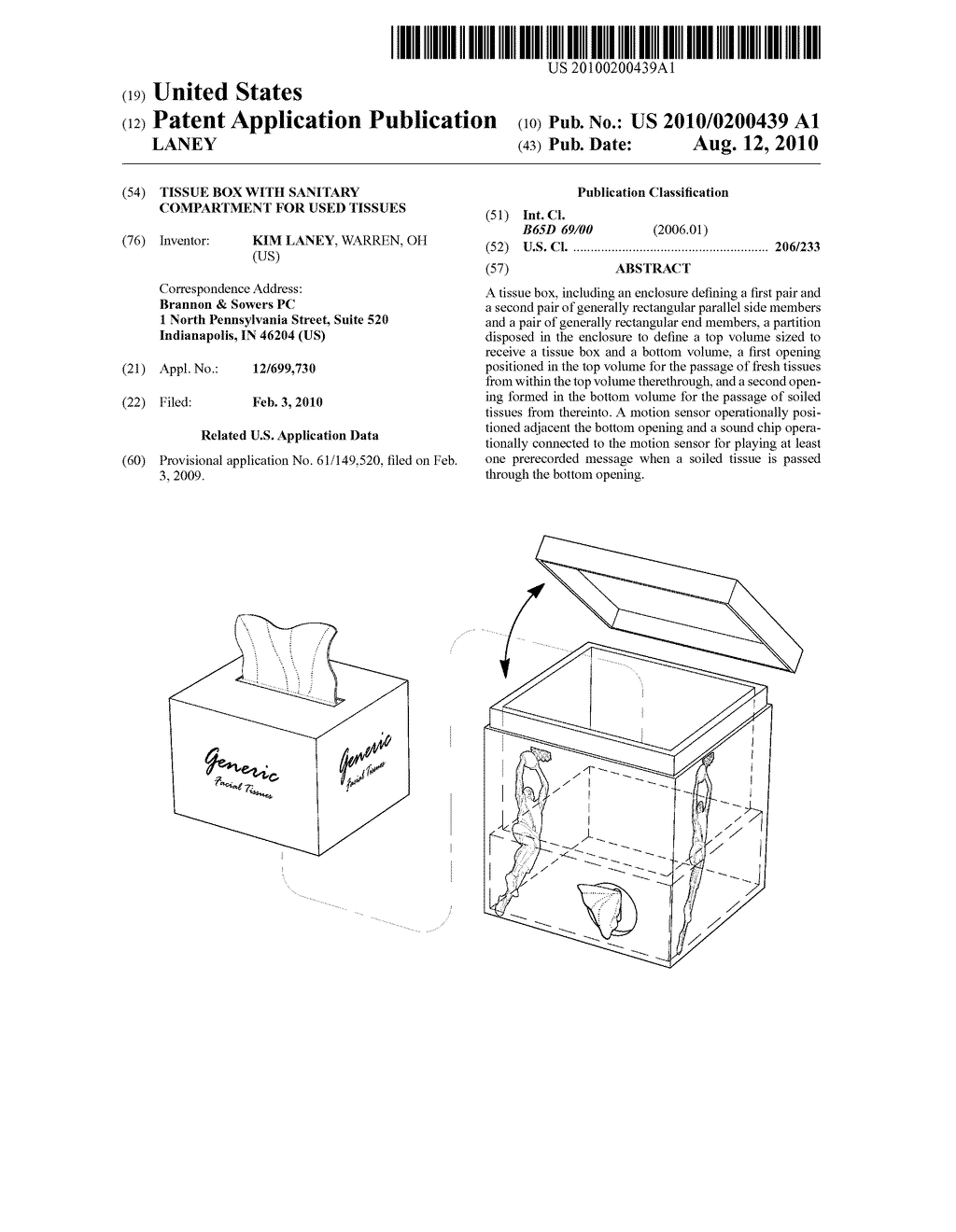 tissue box with sanitary compartment for used tissues diagram rh patentsencyclopedia com Self-Priming Centrifugal Pump durco self priming pump manual