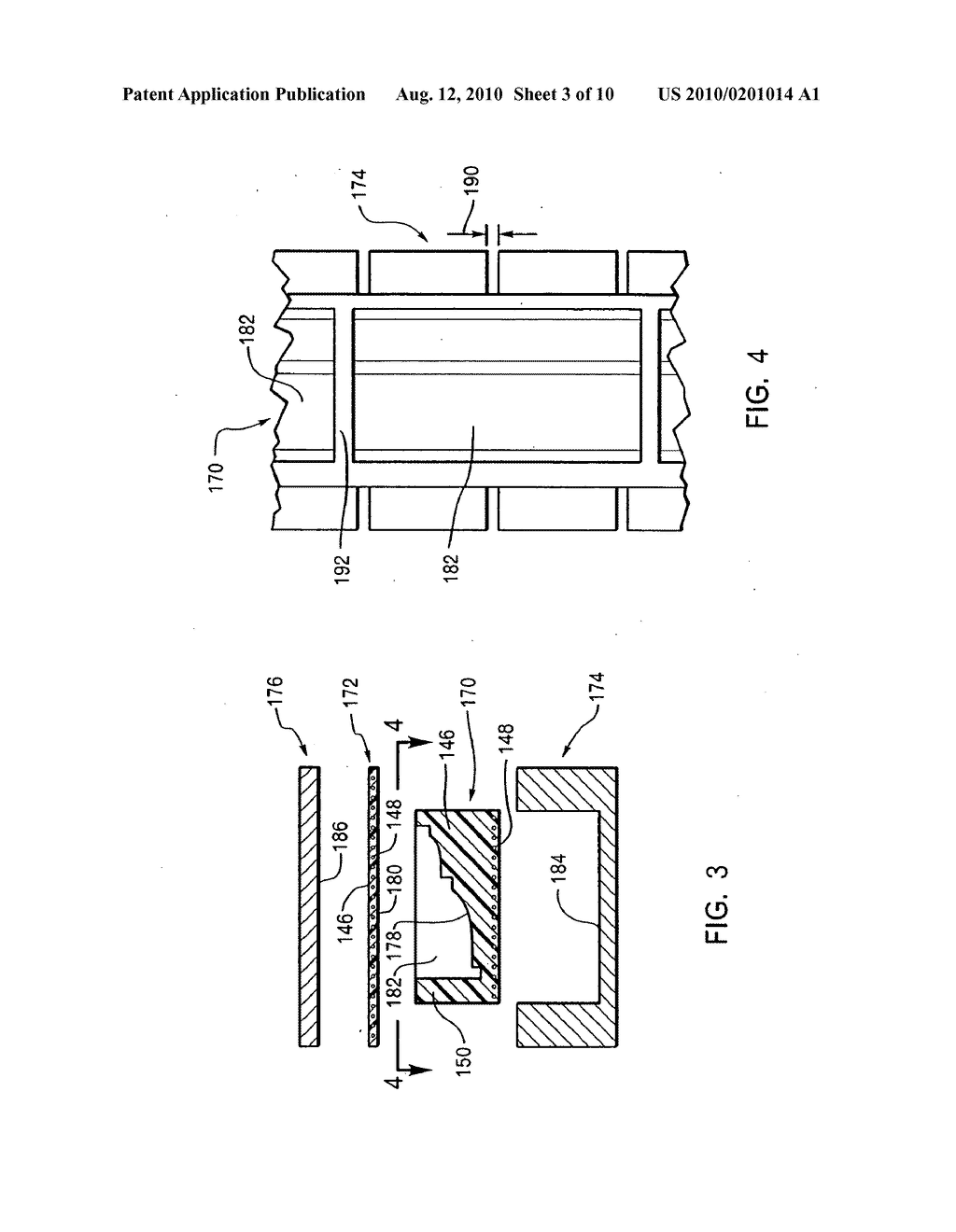 METHOD FOR MOLDING THREE-DIMENSIONAL FOAM PRODUCTS USING A CONTINUOUS FORMING APPARATUS - diagram, schematic, and image 04