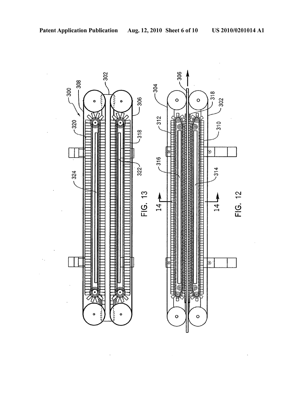 METHOD FOR MOLDING THREE-DIMENSIONAL FOAM PRODUCTS USING A CONTINUOUS FORMING APPARATUS - diagram, schematic, and image 07