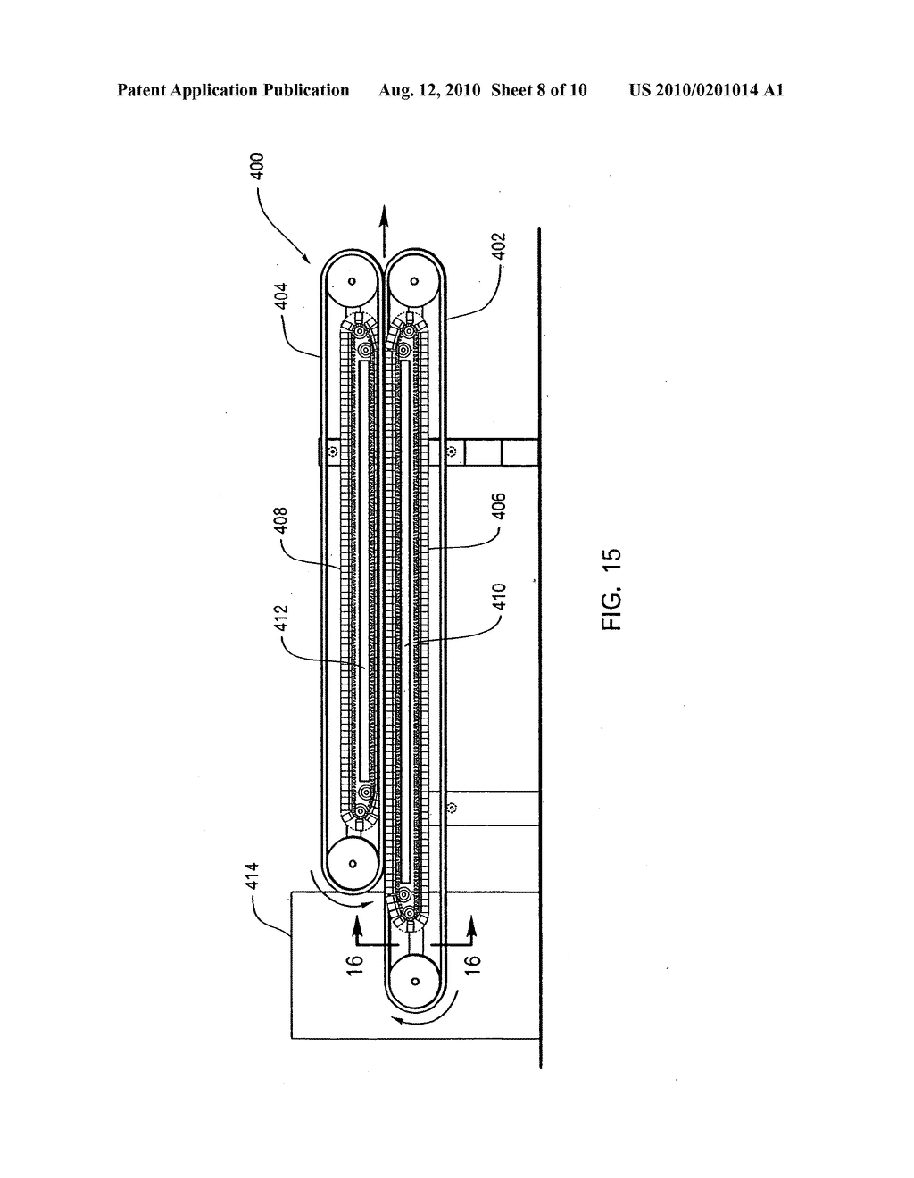 METHOD FOR MOLDING THREE-DIMENSIONAL FOAM PRODUCTS USING A CONTINUOUS FORMING APPARATUS - diagram, schematic, and image 09