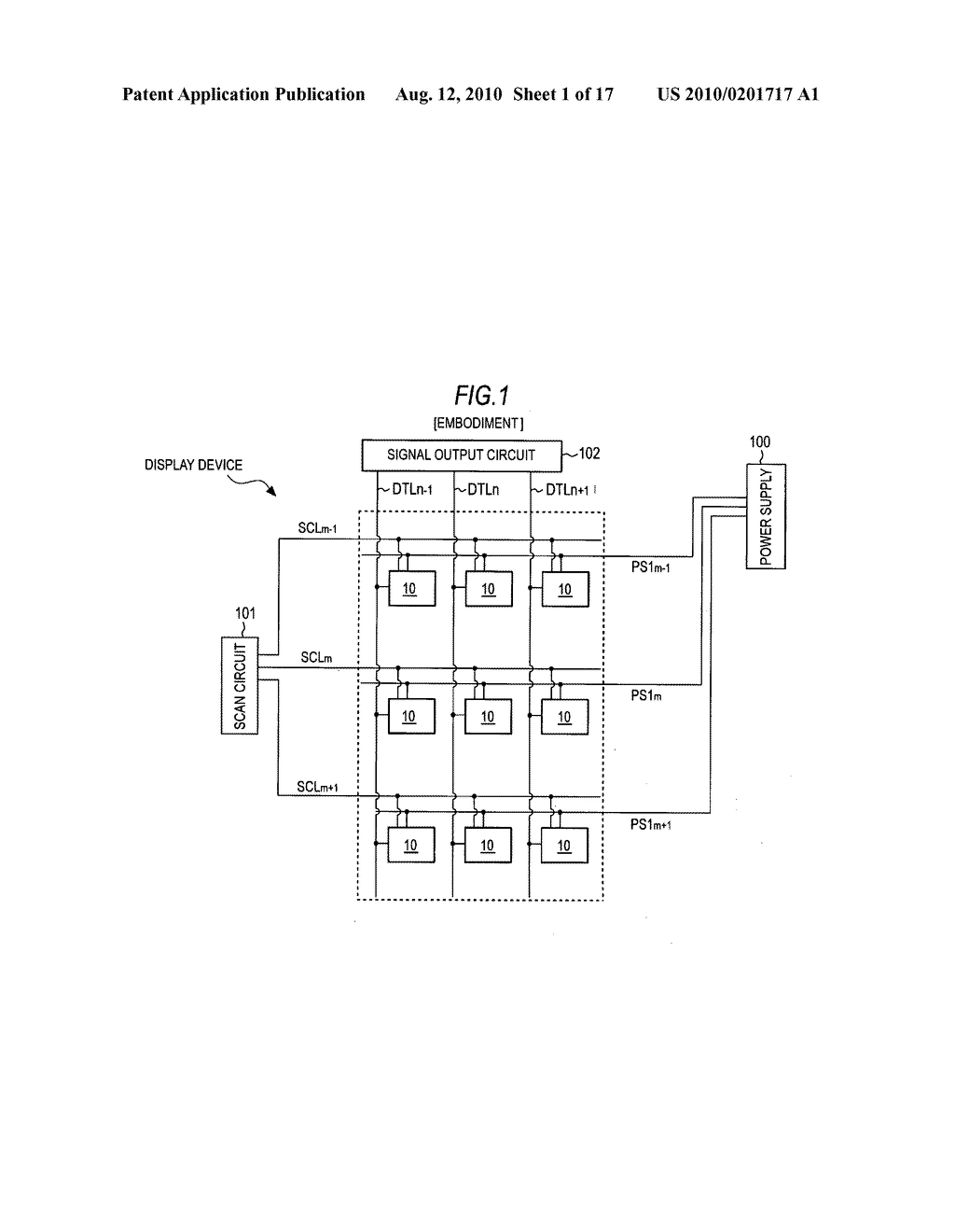 Display device and driving method thereof - diagram, schematic, and image 02