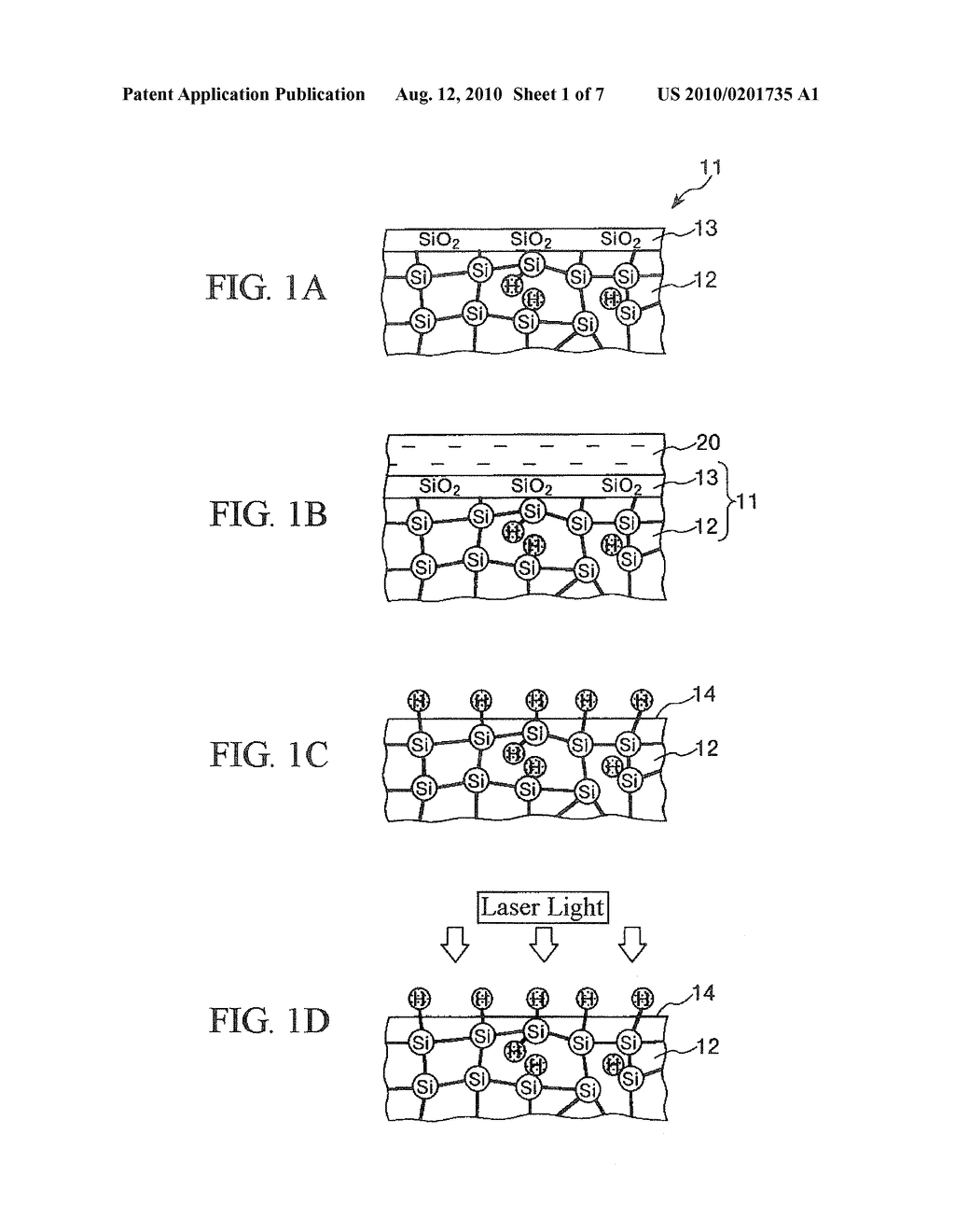BONDING METHOD OF SILICON BASE MEMBERS, DROPLET EJECTION HEAD, DROPLET EJECTION APPARATUS, AND ELECTRONIC DEVICE - diagram, schematic, and image 02