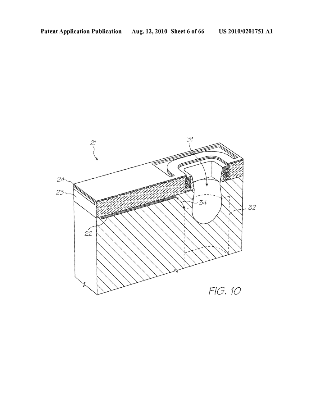 INKJET NOZZLE ASSEMBLY WITH LOW DENSITY SUSPENDED HEATER ELEMENT - diagram, schematic, and image 07