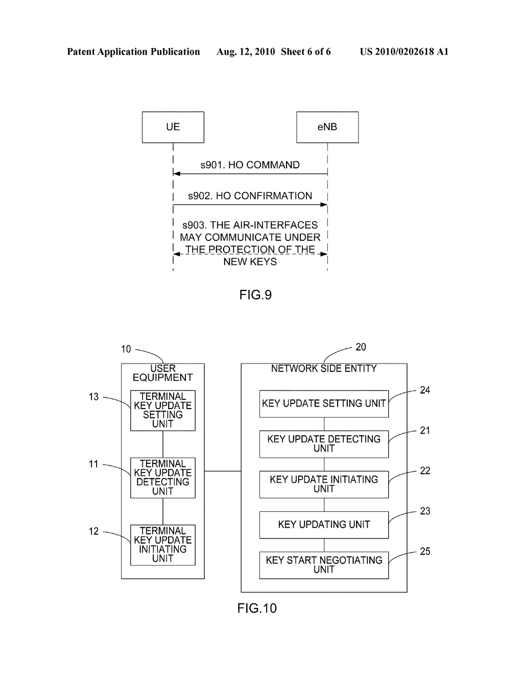 Method and apparatus for updating key in an active state - diagram, schematic, and image 07
