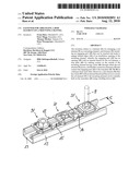 Fastener for arranging a rod element on a mounting channel diagram and image