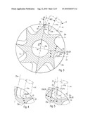 TURBINE WHEEL FOR A GAS OPERATED MEDICAL HANDPIECE AND MEDICAL HANDPIECE HAVING A TURBINE WHEEL, AND METHOD FOR MILLING A BLADE OF A TURBINE WHEEL diagram and image
