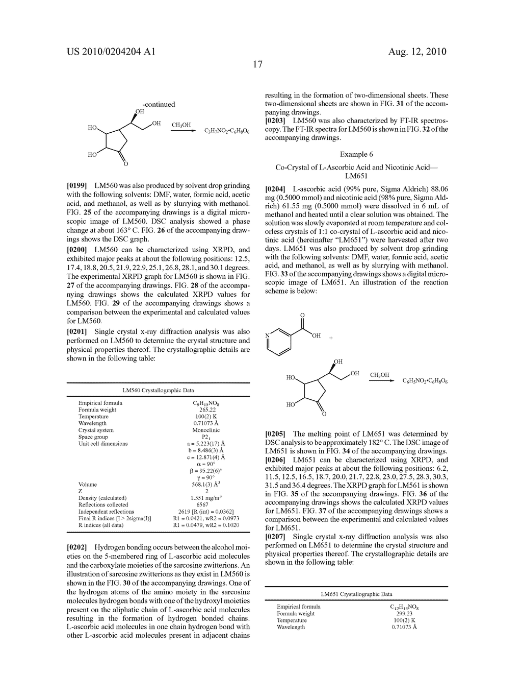 NUTRACEUTICAL CO-CRYSTAL COMPOSITIONS - diagram, schematic, and image 82