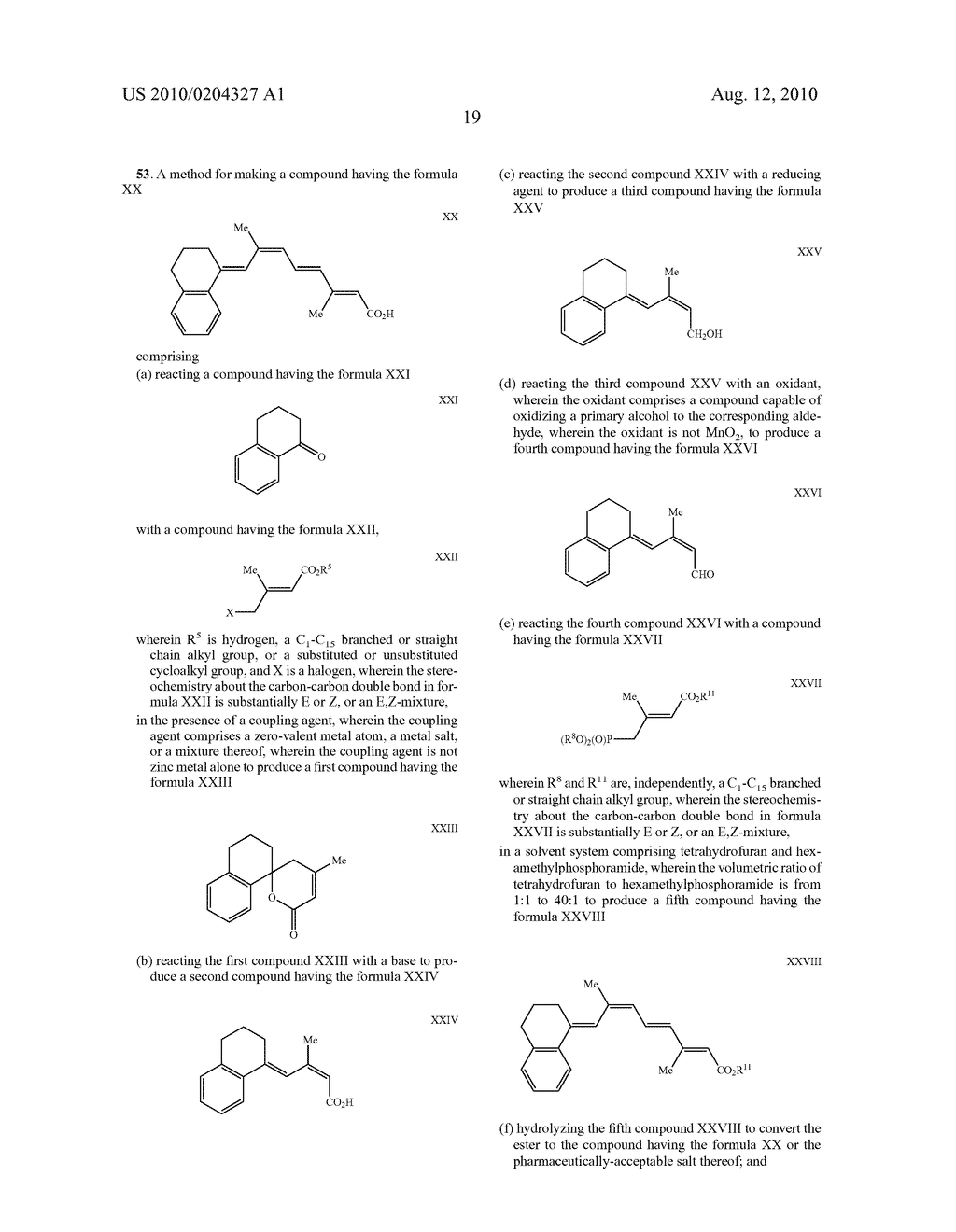 Methods for making retinoids and uses thereof - diagram, schematic, and image 23
