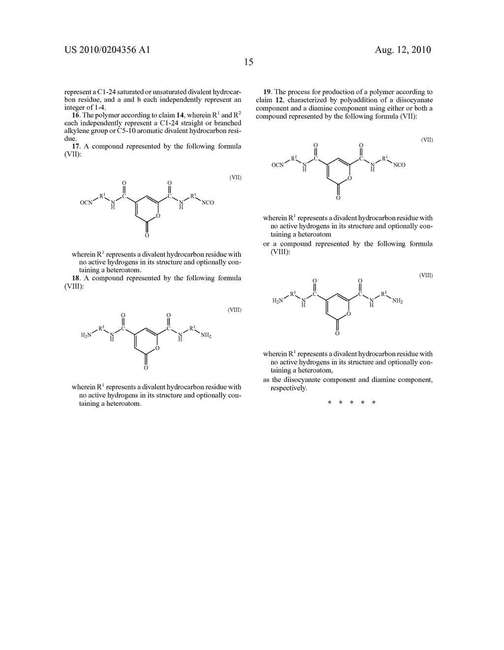 POLYURETHANES, POLYUREAS, AND PROCESS FOR THEIR PRODUCTION - diagram, schematic, and image 18