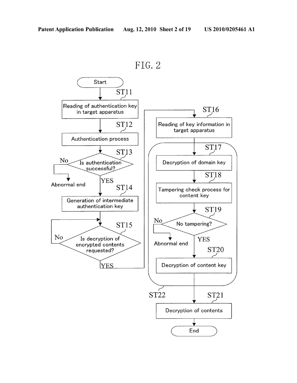 METHOD FOR GENERATING DATA FOR DETECTION OF TAMPERING, AND METHOD AND APPARATUS FOR DETECTION OF TAMPERING - diagram, schematic, and image 03