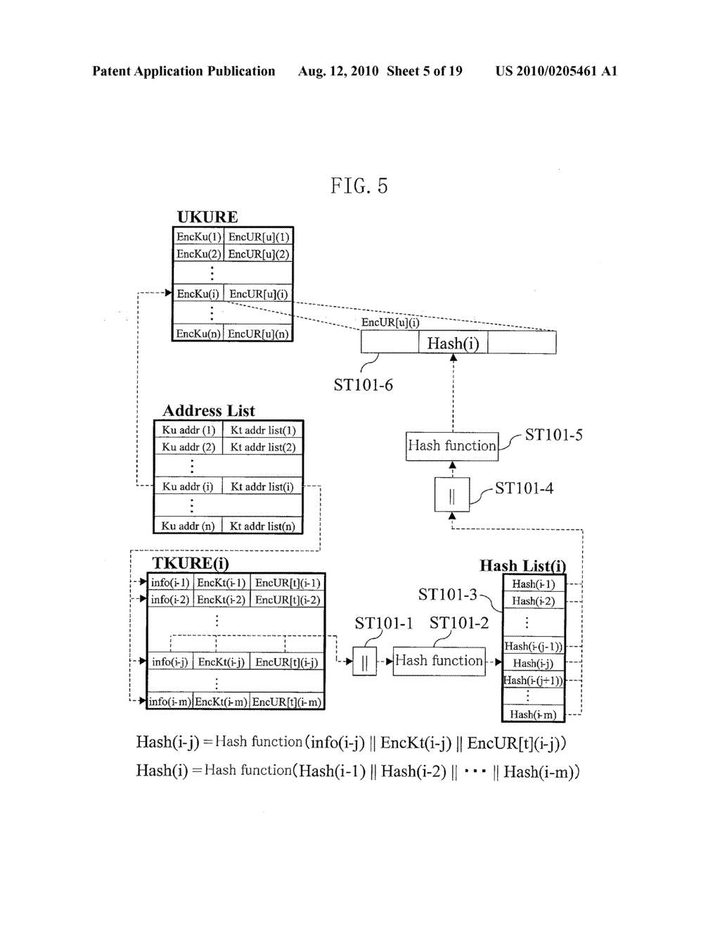 METHOD FOR GENERATING DATA FOR DETECTION OF TAMPERING, AND METHOD AND APPARATUS FOR DETECTION OF TAMPERING - diagram, schematic, and image 06