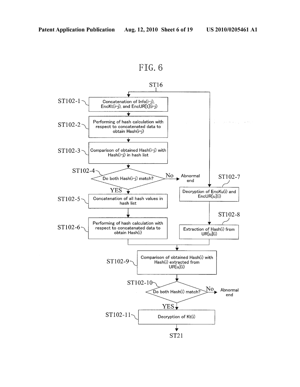 METHOD FOR GENERATING DATA FOR DETECTION OF TAMPERING, AND METHOD AND APPARATUS FOR DETECTION OF TAMPERING - diagram, schematic, and image 07