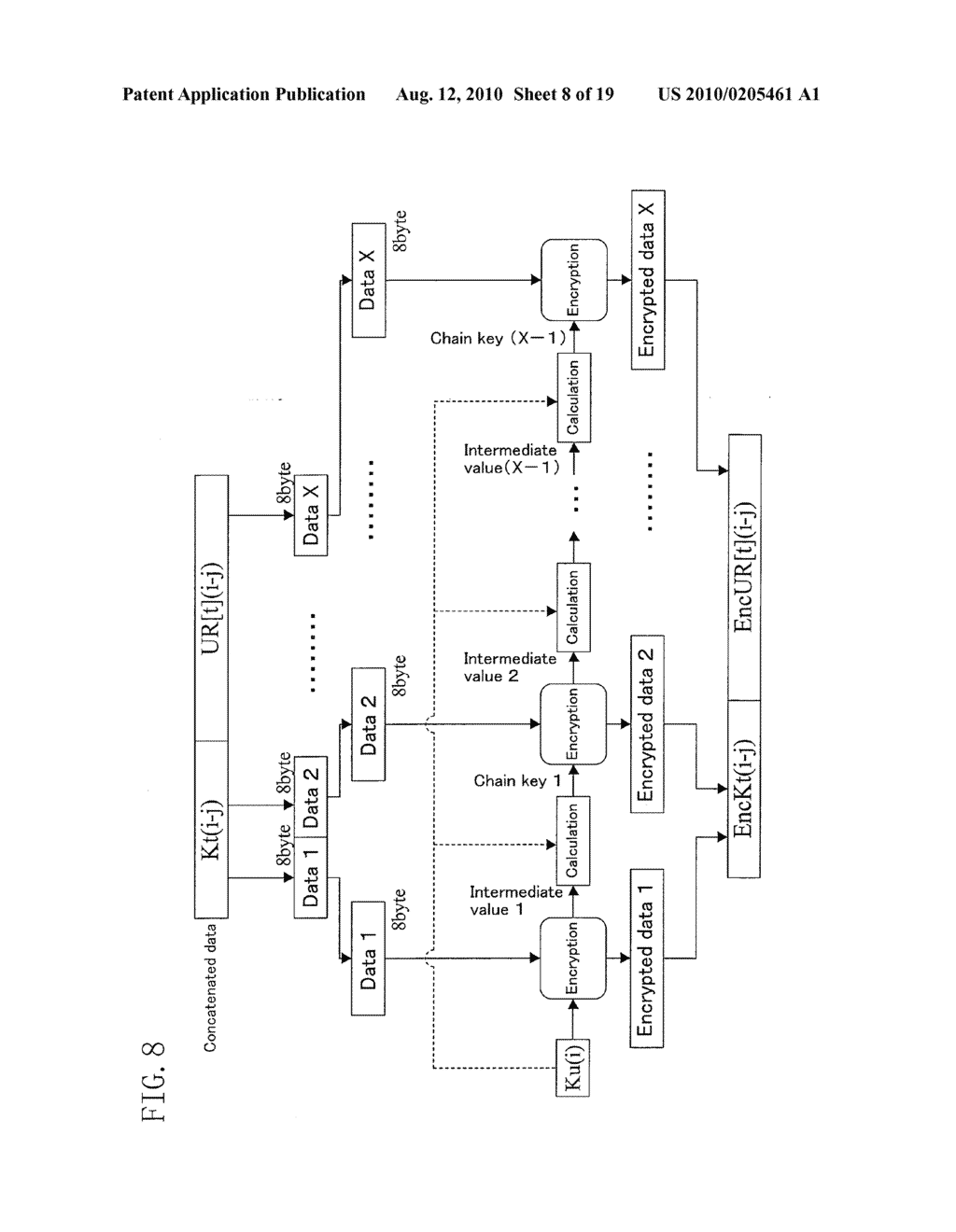 METHOD FOR GENERATING DATA FOR DETECTION OF TAMPERING, AND METHOD AND APPARATUS FOR DETECTION OF TAMPERING - diagram, schematic, and image 09