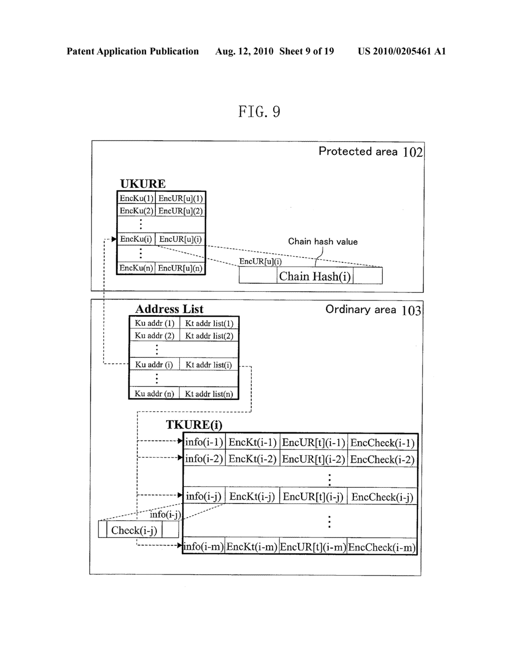 METHOD FOR GENERATING DATA FOR DETECTION OF TAMPERING, AND METHOD AND APPARATUS FOR DETECTION OF TAMPERING - diagram, schematic, and image 10