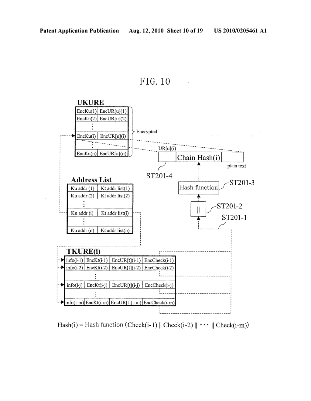 METHOD FOR GENERATING DATA FOR DETECTION OF TAMPERING, AND METHOD AND APPARATUS FOR DETECTION OF TAMPERING - diagram, schematic, and image 11