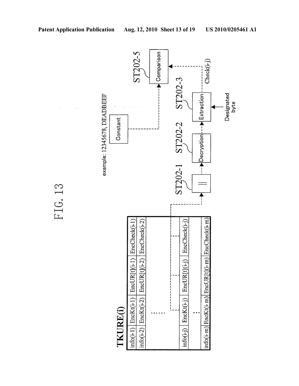 METHOD FOR GENERATING DATA FOR DETECTION OF TAMPERING, AND METHOD AND APPARATUS FOR DETECTION OF TAMPERING - diagram, schematic, and image 14