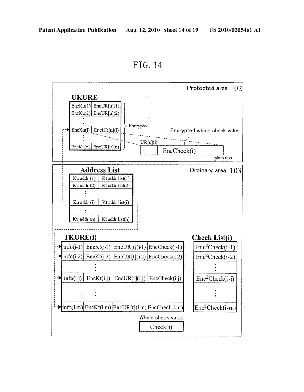 METHOD FOR GENERATING DATA FOR DETECTION OF TAMPERING, AND METHOD AND APPARATUS FOR DETECTION OF TAMPERING - diagram, schematic, and image 15