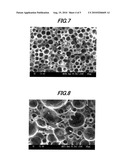 AQUEOUS ABSORPTIVE POLYMER-CONTAINING RESIN COMPOSITION-PRODUCING METHOD, AQUEOUS ABSORPTIVE POLYMER-CONTAINING RESIN COMPOSITION, AND POROUS SUBSTANCE-PRODUCING METHOD USING SAME AND POROUS SUBSTANCE, INSULATED ELECTRIC CABLE-PRODUCING METHOD, INSULATED ELECTRIC CABLE AND COAXIAL CABLE diagram and image