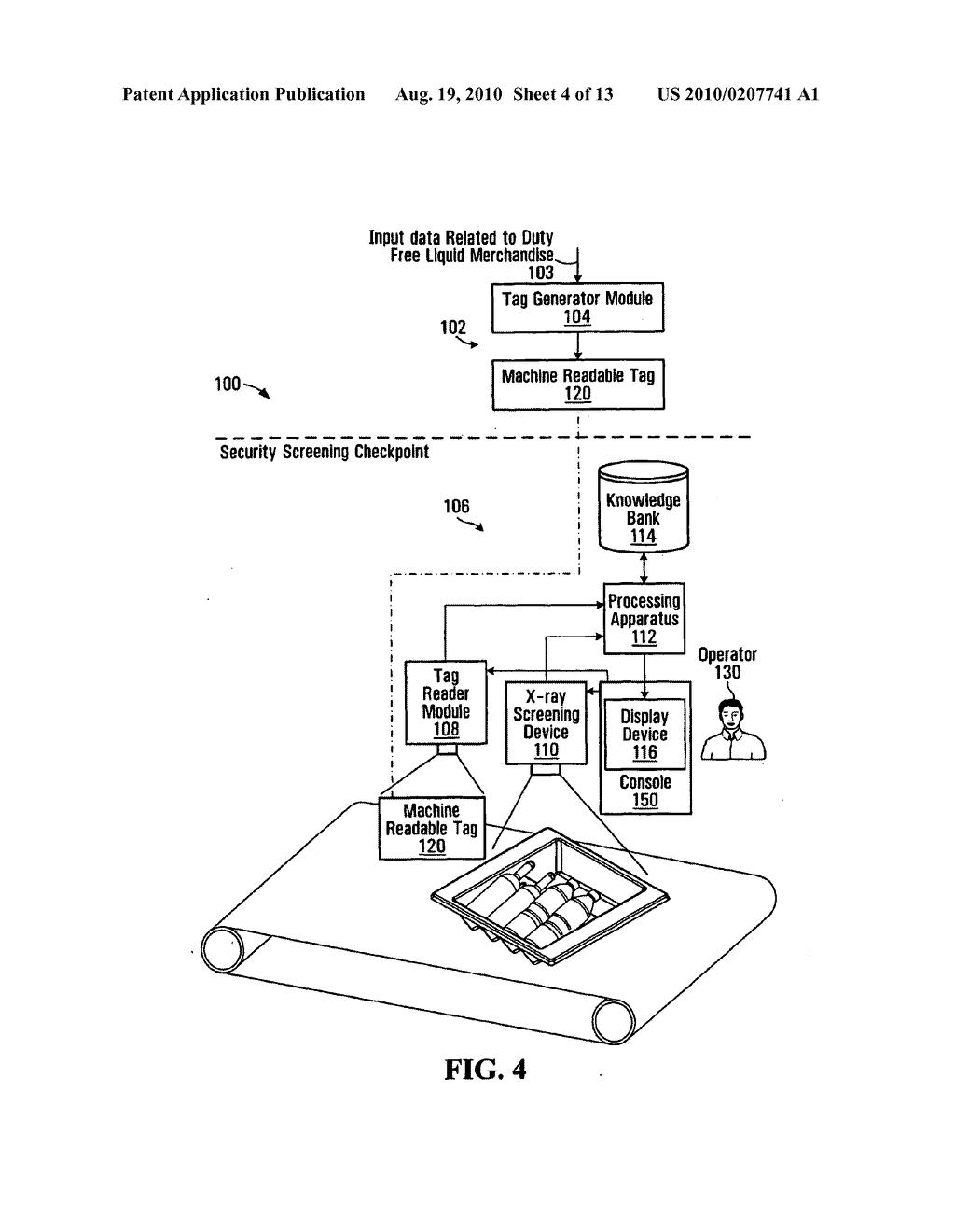 METHOD, APPARATUS AND SYSTEM FOR USE IN CONNECTION WITH THE INSPECTION OF LIQUID MERCHANDISE - diagram, schematic, and image 05
