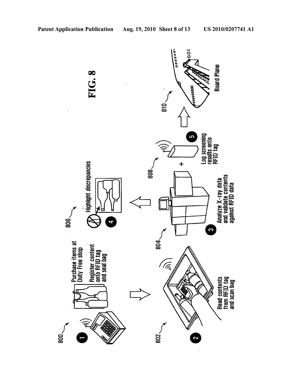 METHOD, APPARATUS AND SYSTEM FOR USE IN CONNECTION WITH THE INSPECTION OF LIQUID MERCHANDISE - diagram, schematic, and image 09