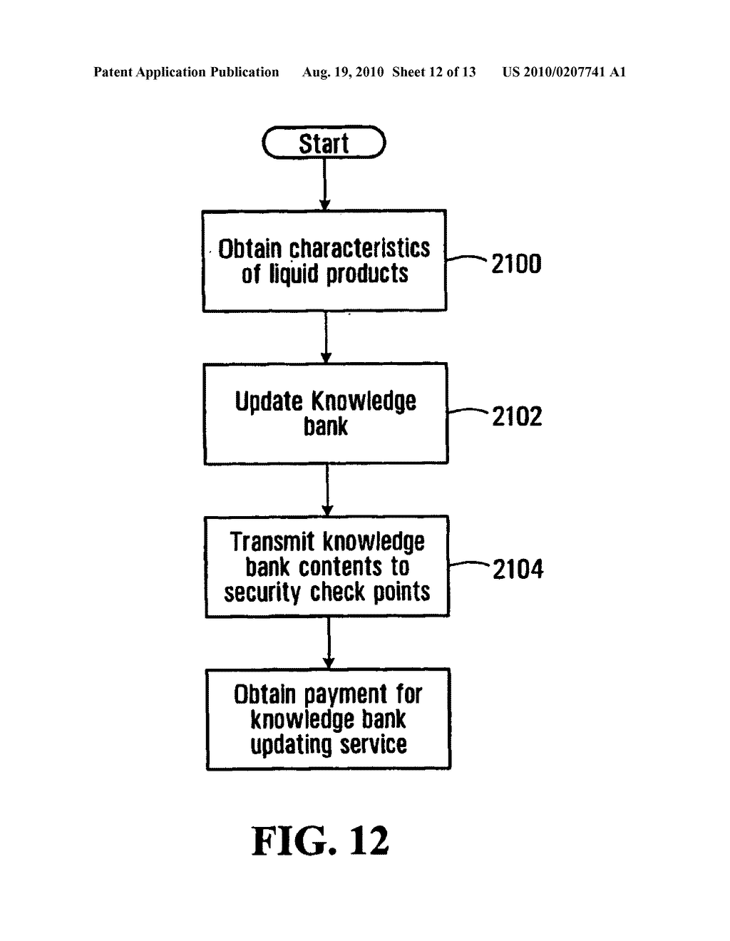 METHOD, APPARATUS AND SYSTEM FOR USE IN CONNECTION WITH THE INSPECTION OF LIQUID MERCHANDISE - diagram, schematic, and image 13