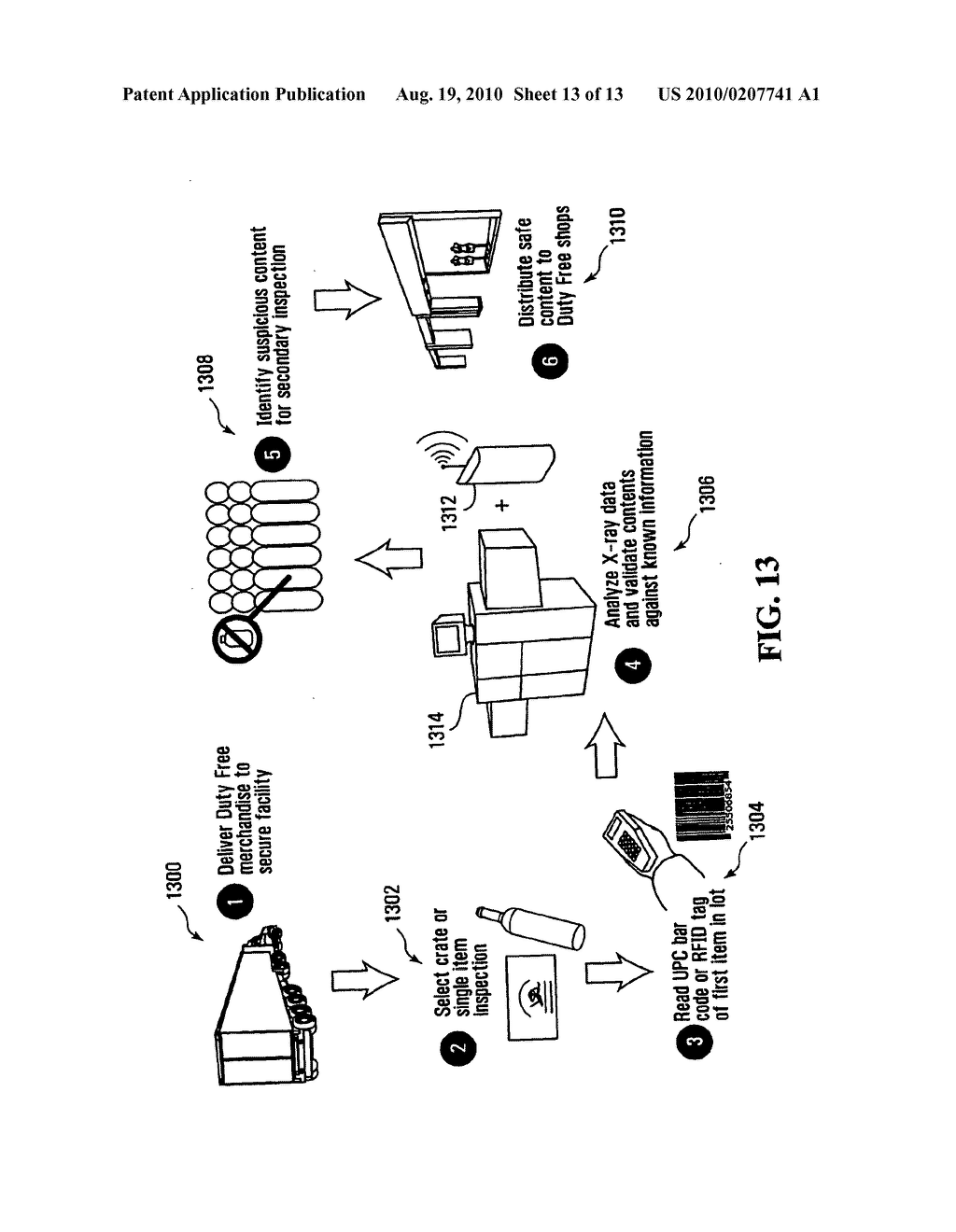 METHOD, APPARATUS AND SYSTEM FOR USE IN CONNECTION WITH THE INSPECTION OF LIQUID MERCHANDISE - diagram, schematic, and image 14