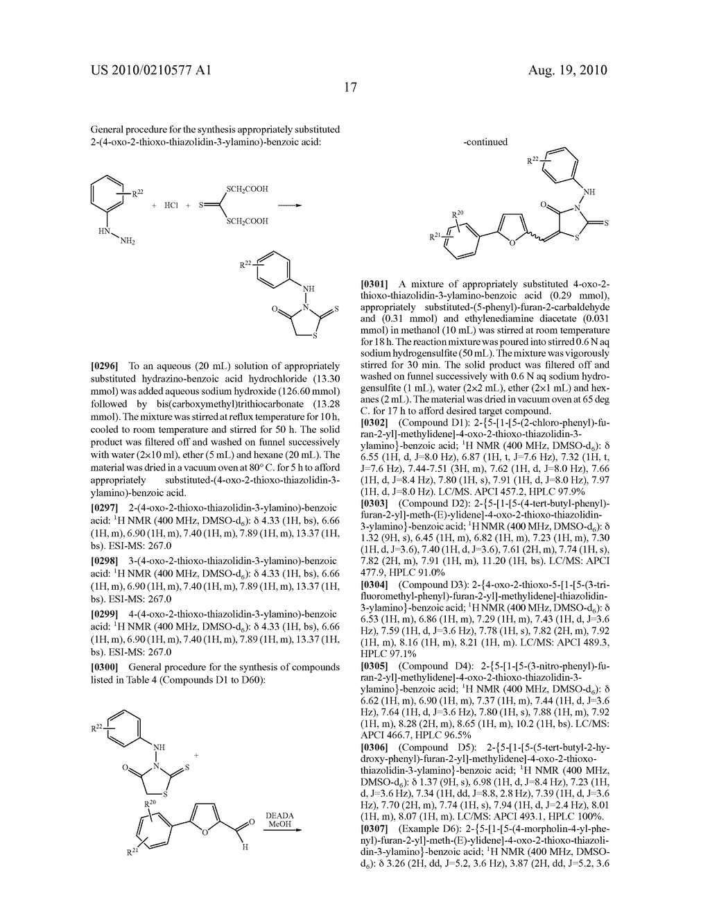 CYCLIC CARBOXYLIC ACID RHODANINE DERIVATIVES FOR THE TREATMENT AND PREVENTION OF TUBERCULOSIS - diagram, schematic, and image 27