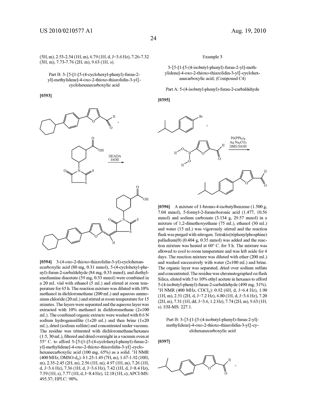 CYCLIC CARBOXYLIC ACID RHODANINE DERIVATIVES FOR THE TREATMENT AND PREVENTION OF TUBERCULOSIS - diagram, schematic, and image 34