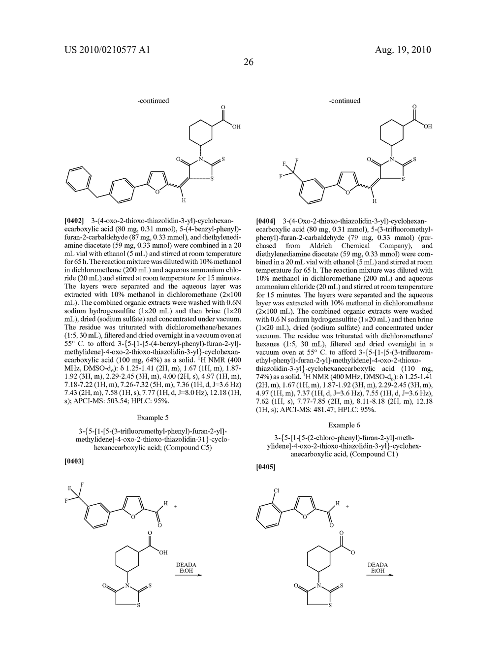 CYCLIC CARBOXYLIC ACID RHODANINE DERIVATIVES FOR THE TREATMENT AND PREVENTION OF TUBERCULOSIS - diagram, schematic, and image 36