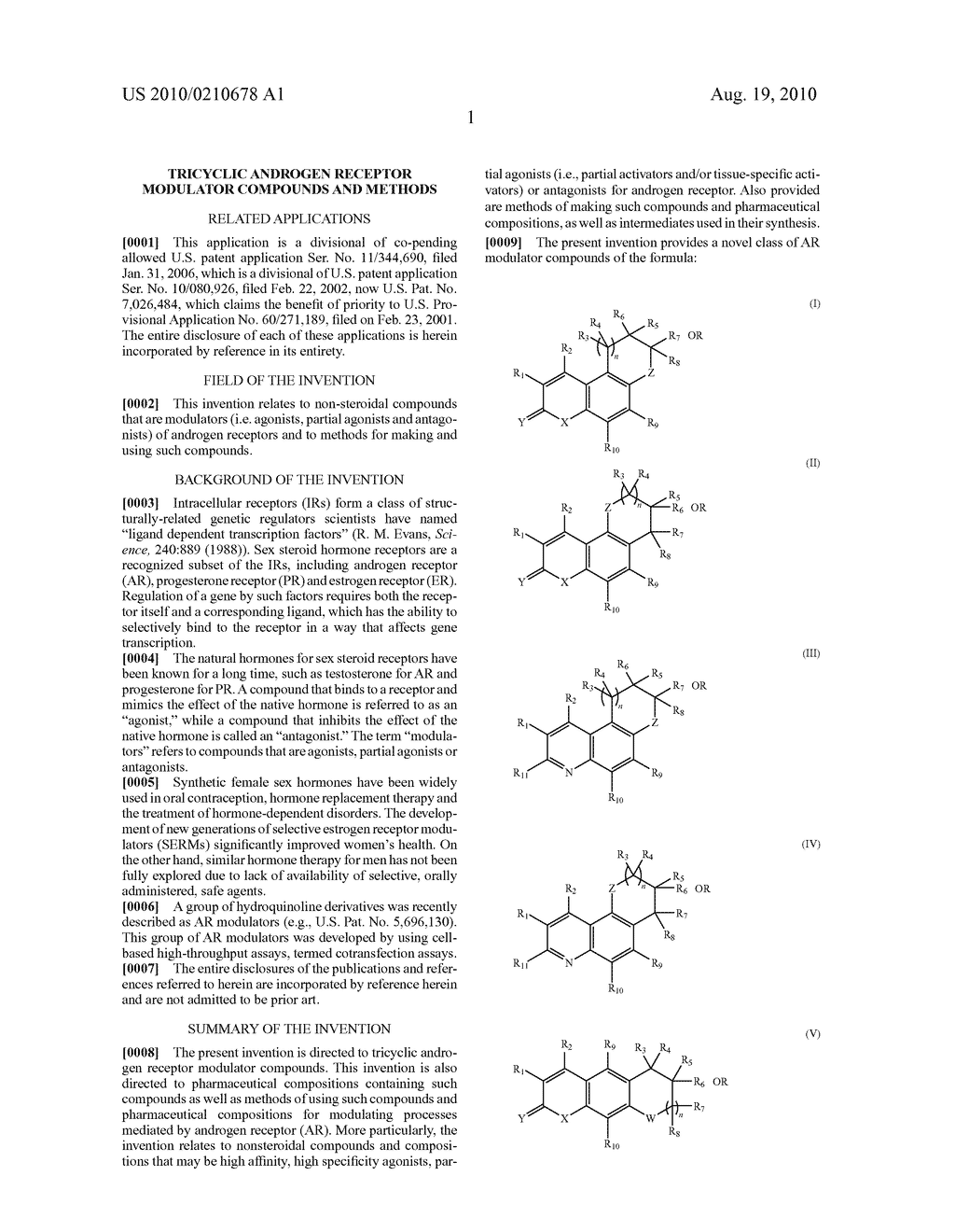 Tricyclic androgen receptor modulator compounds and methods - diagram, schematic, and image 02