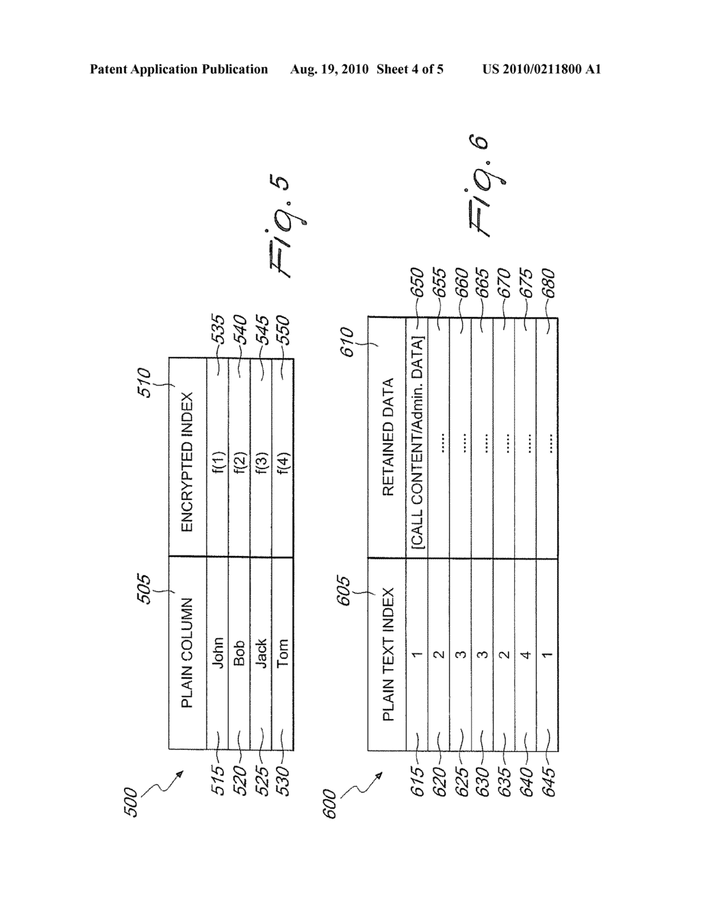 SYSTEMS AND METHODS FOR PARTIAL MATCHING SEARCHES OF ENCRYPTED RETAINED DATA - diagram, schematic, and image 05