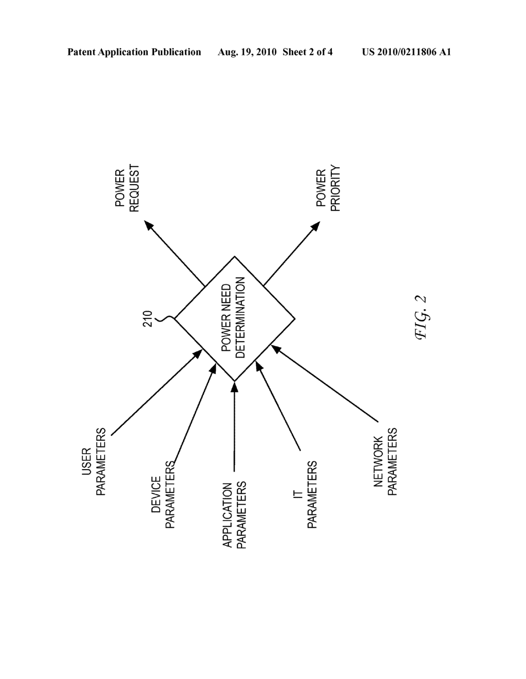 SYSTEM AND METHOD FOR DYNAMIC POWER PROVISIONING FOR A WIRELESS ACCESS POINT - diagram, schematic, and image 03